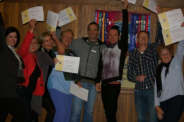 Two Oceans Toastmasters Humorous and Impromptu Contestants